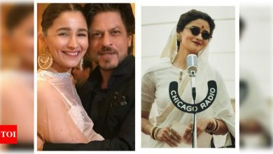 Shah Rukh Khan sends his love and wishes for Alia Bhatt starrer 'Gangubai Kathiawadi': I always look forward to your work as an actor 'little one' - Times of India