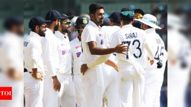Spin win for India: Hosts crush England in second Test, level series | Cricket News - Times of India