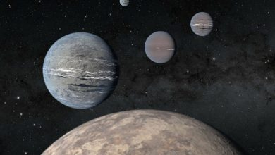 Super-Earth, three gas giants discovered by high school students using TESS data
