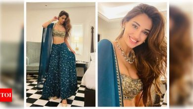 THESE photos of Disha Patani from her best friend's wedding are unmissable! - Times of India