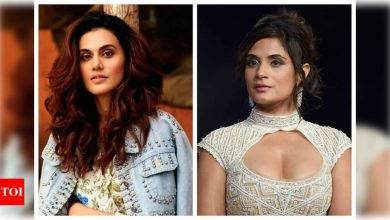 Taapsee Pannu, Richa Chadha take a dig at Haryana minister for his comment on farmers' death - Times of India