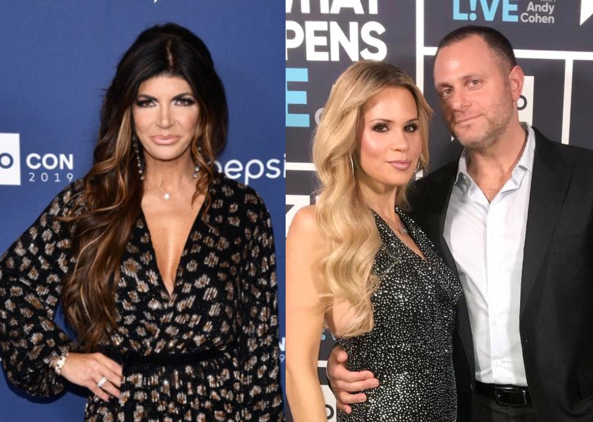 """Teresa Giudice Admits Jackie Goldschneider's Husband is Her """"Type"""" and 'Good Looking' Before Slamming Her RHONJ Co-Star and Saying She Would Make Jackie Her """"B*tch"""""""