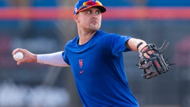 The Mets' roster tinkering appears over for now