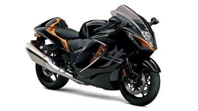 Third-gen Suzuki Hayabusa debuts with 190hp inline-four, fresh styling and new electronics package
