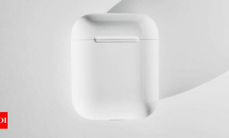 This may be your first look of the next Apple AirPods - Times of India