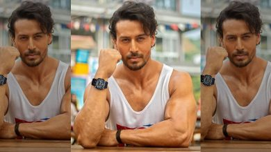 Tiger Shroff Shows Off His Abs