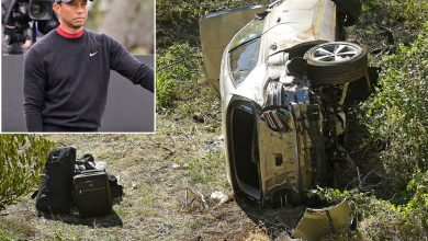 Tiger Woods doesn't remember being in California car crash, sheriff says