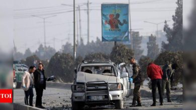 Two killed as bombs rock Afghan capital - Times of India