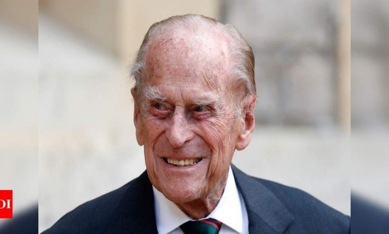 UK's Prince Philip spends seventh night in hospital - Times of India