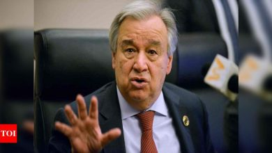 UN chief calls US' re-entry into Paris Climate Agreement a 'day of hope' - Times of India