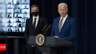 US Senate passes budget plan to advance Biden's $1.9 trillion Covid aid package - Times of India