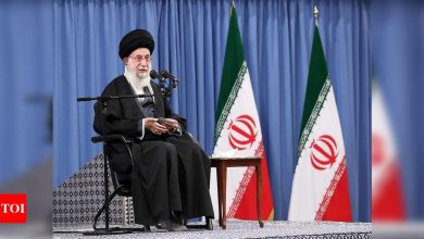 US must lift sanctions before return to deal: Iran's Khamenei - Times of India