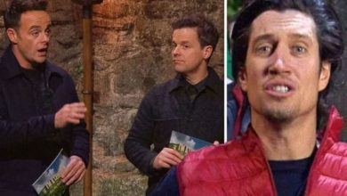 Vernon Kay says Ant and Dec warned him not to do 'horrific' I'm A Celeb in previous years
