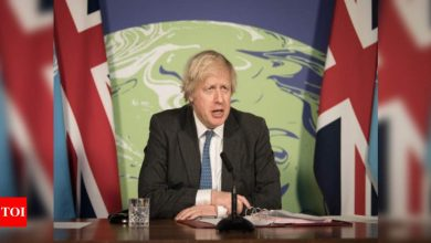 'Very optimistic' of meeting target to lift Covid lockdown but nothing can be guaranteed, says Johnson - Times of India