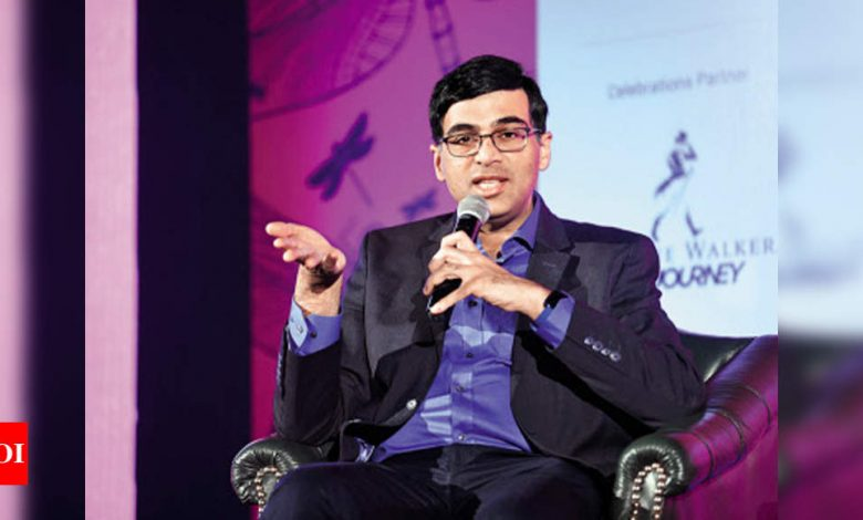 Viswanathan Anand takes up extensive role in 'Global Chess League' | Chess News - Times of India