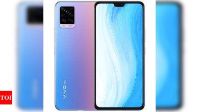 Vivo S7t 5G smartphones with 33W fast charging support launched - Times of India