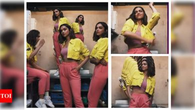 WATCH: Deepika Padukone brings out her alter egos as she gets groovy for a cool video - Times of India
