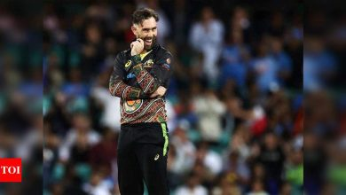 Watch: RCB show how they planned Maxwell bid in video | Cricket News - Times of India