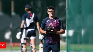 We need to do basics right to win: England bowling coach   Cricket News - Times of India