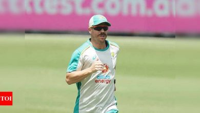 Will be back in action from next week: David Warner | Cricket News - Times of India