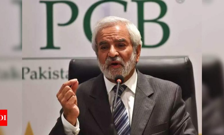 Will push for T20 World Cup's relocation in absence of visa assurance from India: Ehsan Mani | Cricket News - Times of India