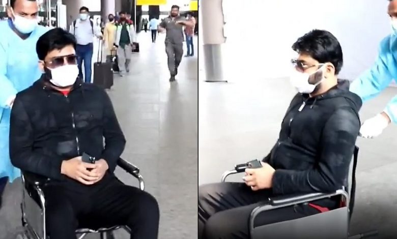 Here's Why Kapil Sharma Arrived In A Wheelchair