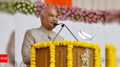 World's largest cricket stadium shows India's capability: President Ram Nath Kovind | Cricket News - Times of India