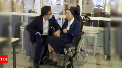 World's second-oldest person survives Covid-19 at age 116 - Times of India