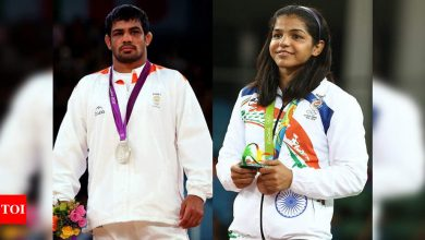 Wrestlers Sushil Kumar, Sakshi Malik out of annual contract; Anshu, Sonam in | More sports News - Times of India
