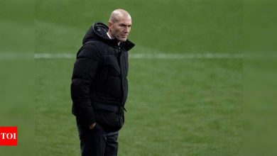 Zinedine Zidane vague on future but feels 'supported' by Real Madrid   Football News - Times of India