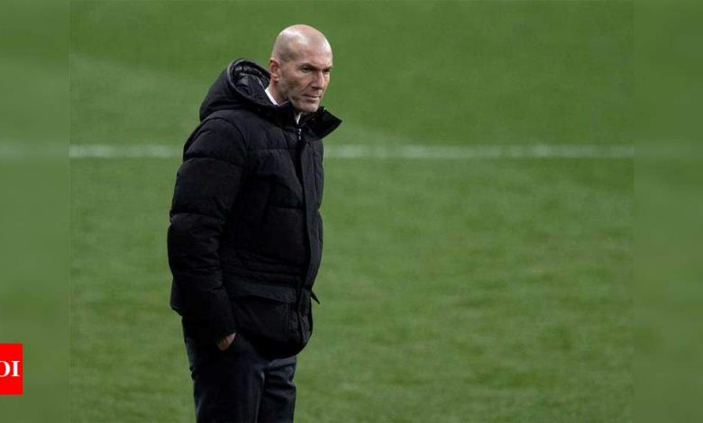 Zinedine Zidane vague on future but feels 'supported' by Real Madrid | Football News - Times of India