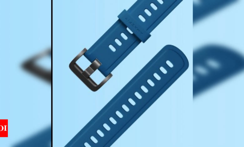 amazfit:  Amazfit launches Bip U Color Series watch straps for Rs 999 - Times of India