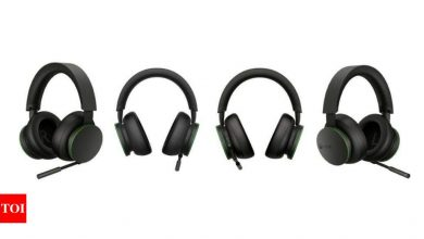 xbox wireless headset:  Microsoft announces Xbox Wireless Headset in select countries - Times of India