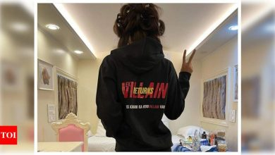 'Ek Villain Returns': Disha Patani shares a picture from her vanity van as she kick-starts shooting of Mohit Suri's next - Times of India