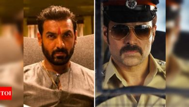 'Mumbai Saga' opening box office report: John-Emraan's gangster drama collections may be affected due to restrictions - Times of India