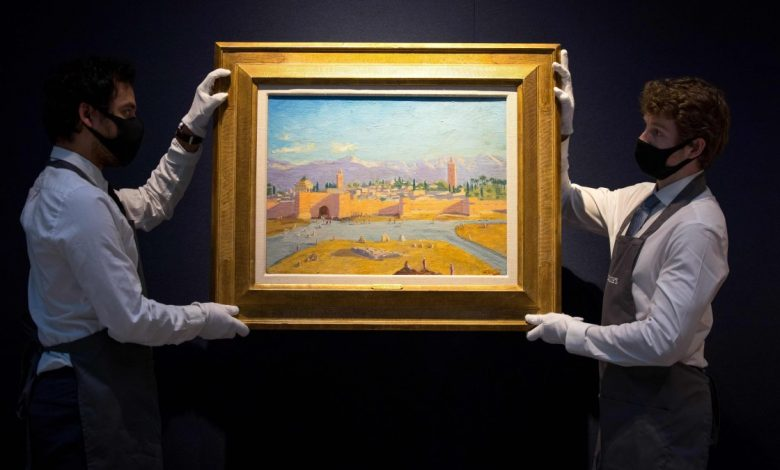 Churchill Painting Owned by Angelina Jolie Sells for $11.5M