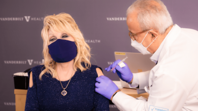 Dolly Parton Gets COVID-19 Vaccine and Sings 'Vaccine' Version of 'Jolene'