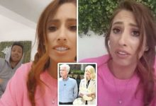 Stacey Solomon's beau Joe Swash mocks her over Holly and Phil snub: 'Don't be an idiot!'