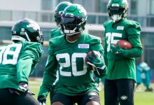 Jets franchise tag Marcus Maye amid agent tension