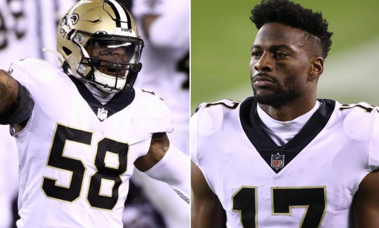 Saints releasing Kwon Alexander, Emmanuel Sanders amid salary-cap crunch