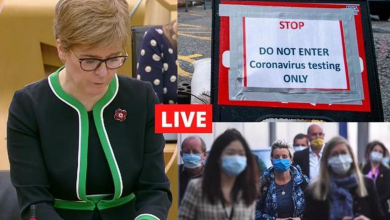Coronavirus in Scotland LIVE:National day of reflection as UK marks one year since first lockdown