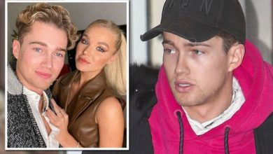 AJ Pritchard torn apart seeing girlfriend engulfed in flames and can't watch fire on TV