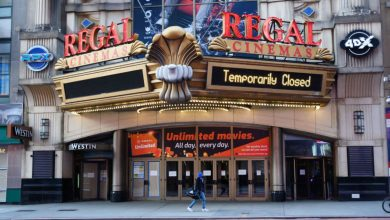 Regal Cinemas to Reopen in April, Strikes New Deal With Warner Bros.