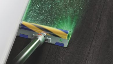 Dyson's new V15 Detect vacuum uses lasers to guilt you into doing a better job of cleaning