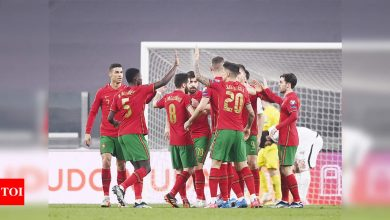 Underwhelming Portugal need own goal to beat Azerbaijan | Football News - Times of India