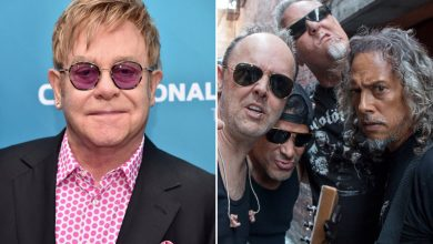 Sir Elton John joins Metallica because 'Nothing Else Matters' with Miley