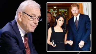 John Humphrys swiped Meghan and Harry for 'contradiction' in Oprah Interview