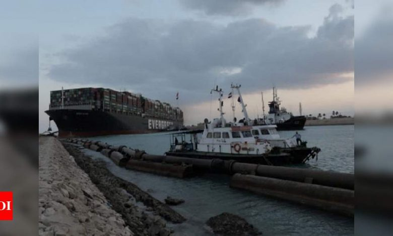 2 tugboats speed to Egypt's Suez Canal as shippers avoid it - Times of India
