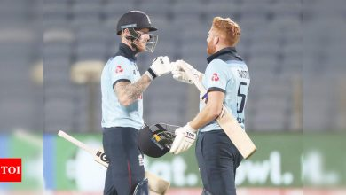 2nd ODI: Jonny Bairstow, Ben Stokes go ballistic as England chase 337 with ease | Cricket News - Times of India