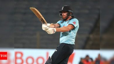 2nd ODI: Jonny Bairstow says 'it just happens' as England hit 20 sixes to beat India | Cricket News - Times of India